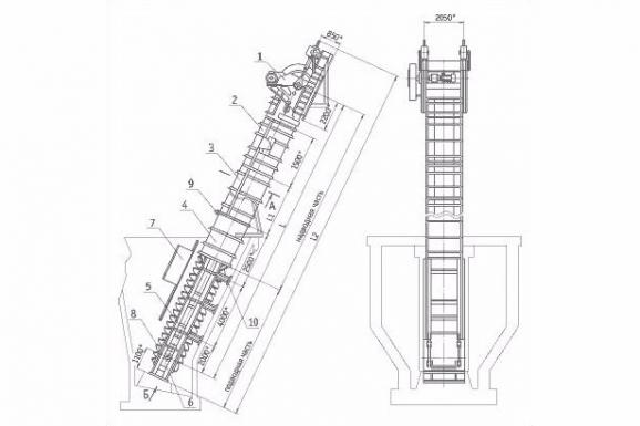 Элеваторы ковшовые обезвоживающие модель что списана с конвейера
